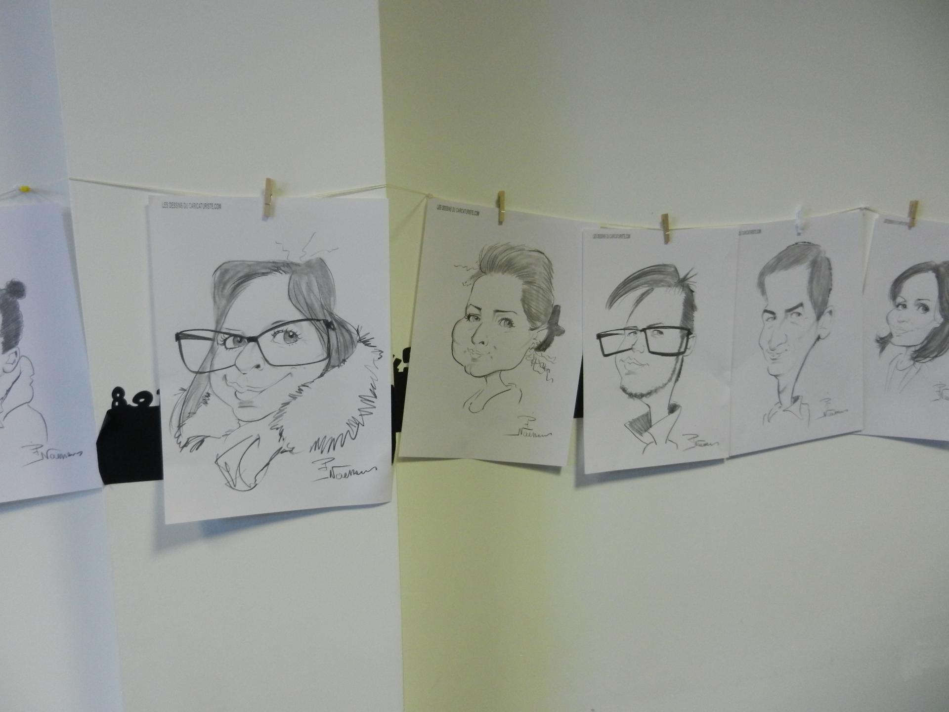 trombinoscope de caricatures