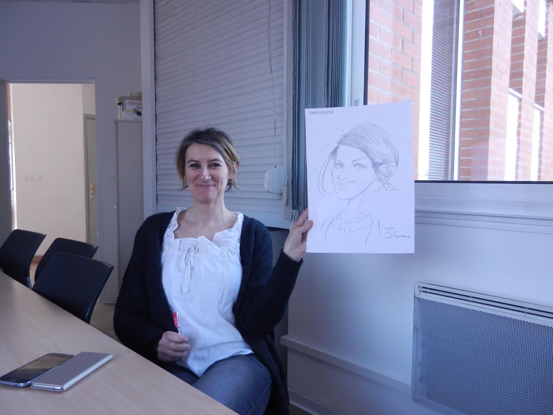 caricatures en entreprises