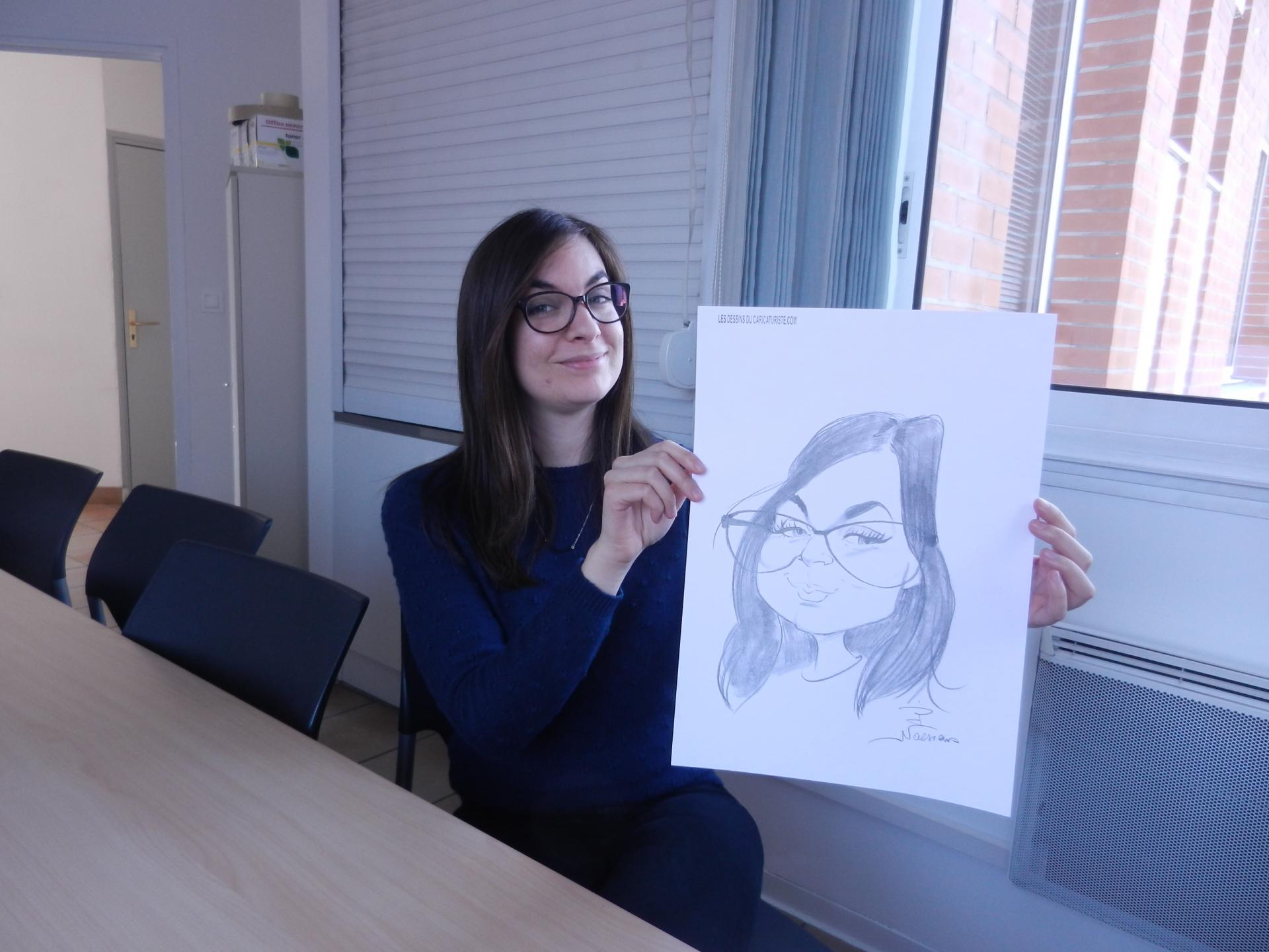 caricatures en entreprise
