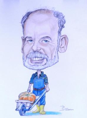 Caricature de jean pierre darroussin