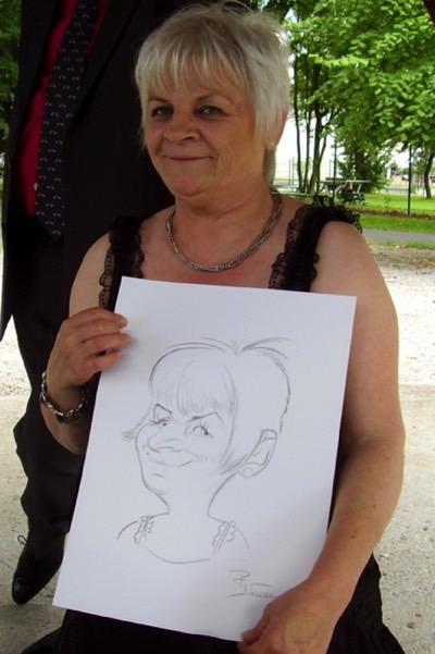 Animation caricatures hauts de France