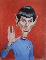 Le onard nimoy mr spock