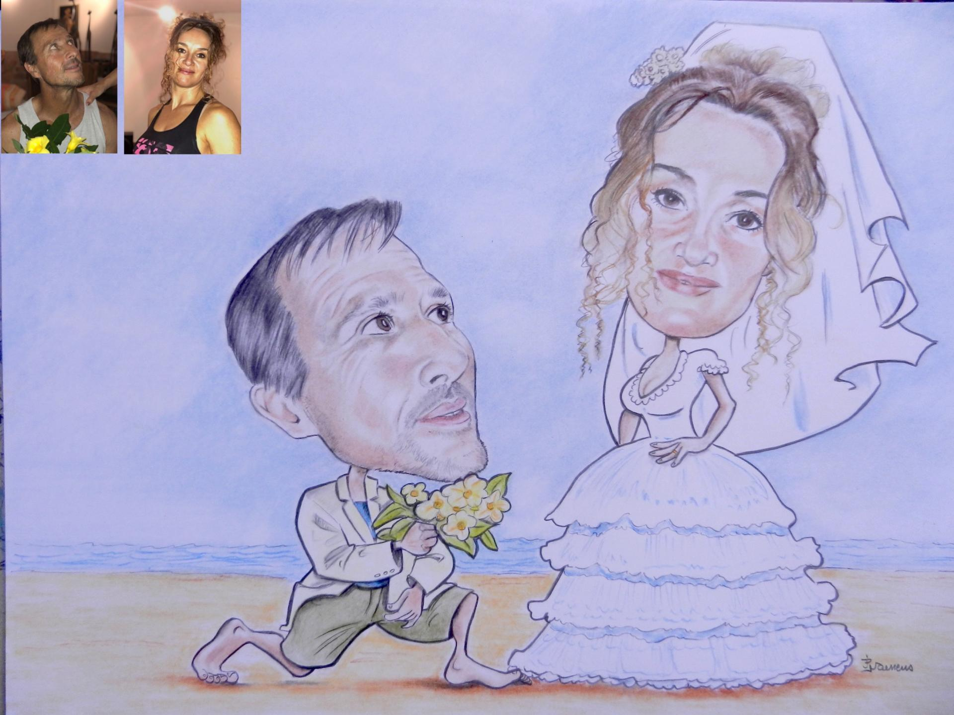 Mariage aux iles